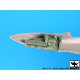Black dog A72066 1/72 F-4 E canon