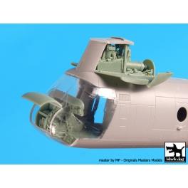 Black dog A72067 1/72 Ch -46 D fron tengine+cocpit