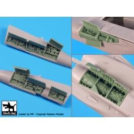 Black dog A72075 1/72 F-15 C big set