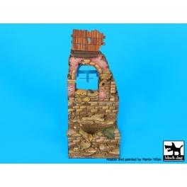 Black dog D35103 1\35 House ruin Italy 1944 base