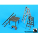 Black dog F32064 1\32 Ladders and table