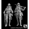 Black dog F35202 1\35 French soldiers WW I set