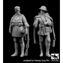Black dog F35206 1/35 British soldieers WW I  set N°2