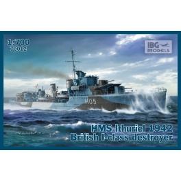 IBG 70012 Destroyer britannique classe I HMS Ithuriel (1942)