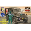 "Bilek B994 Dodge WC-54 Ambulance + figurine Conductrice ""Rochambelle"""