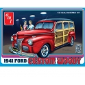AMT 906 - FORD WOODY 1941 1/25