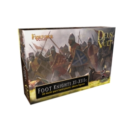 Fireforge Games 15 Chevaliers à pied XIe-XIIIe siècles