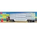 AMT 1106 - Wilson Livestock Van Trailer 1/25