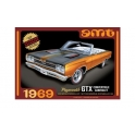 AMT 1137 - 1969 Plymouth GTX Convertible 1/25