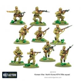North Korean KPA Rifle Squad