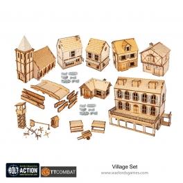 Bolt Action Rural Village Set