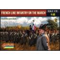 Strelets 173 Infanterie de ligne française en marche – Compagnies de flanc