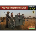 Strelets 188 Canon Pom-Pom avec servants Boer