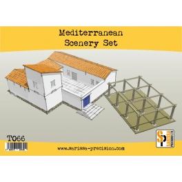 Mediterranean Scenery Set