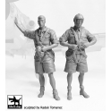 Blackdog F32073 - German Luftwafe pilots Africa - set N°2