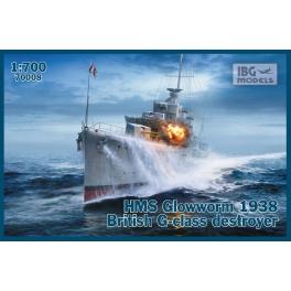 IBG 70008 Destroyer britannique classe G HMS Glowworn 1938