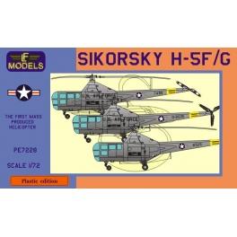 LF Models PE7228 Hélicoptère américain H-5F/H-5G