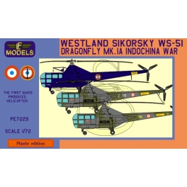 LF Models PE7229 Hélicoptère Westland-Sikorsky WS-51 Dragonfly Mk.IA - Décorations françaises Indochine