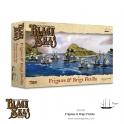 Warlord Games 792010001 Black Seas Flotille de frégates et bricks (1770-1830)