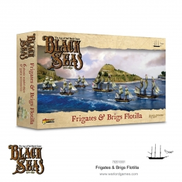 Warlord Games 792010001 Black Seas Flotille de frégates et bricks (1770-1830)