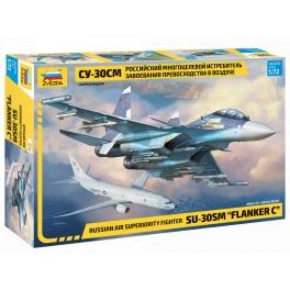 """Zvezda 7314 Chasseur russe Sukhoï Su-30SM """"Flanker C"""""""