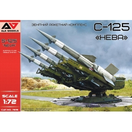 """A&A Models 7215 Lance-missiles anti-aériens S-125 """"Neva"""""""