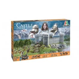 Italeri 6185 Coffret Chateau Guerre de 100 ans