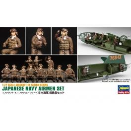 Hasegawa 35116 Equipage d'avions de la Marine Japonaise