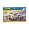 Italeri 6545 Tank soviétique T-34/85 avec intérieur détaillé