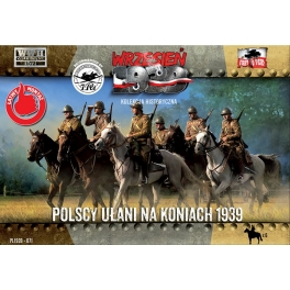 First to Fight 71 Uhlans polonais à cheval 1939
