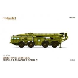 """Modelcollect UA72185 Lanceur de missile stratégique soviétique 9P117 """"Scud C"""""""