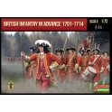Strelets 230 Infanterie anglaise en marche 1701-1714