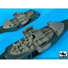 Blackdog A72078 - 1/72 NH 90 NFH Navy engine