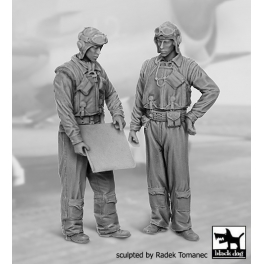 Blackdog F32076 - 1/32 US NAVY pilots 1940-45 set N°1
