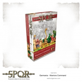Warlord Games 152214010 Commandement guerriers germains