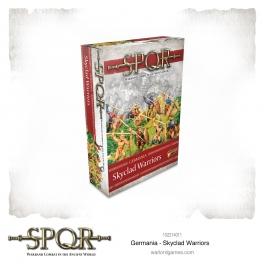 Warlord Games 152214011 Guerriers germains vêtus par les cieux