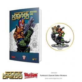 Warlord Games 651010001 Livre de règles Judge Dredd
