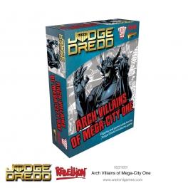 Warlord Games 652210201 Ennemis jurés de Mega City One