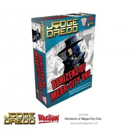 Warlord Games 652210203 Habitants de Mega City One