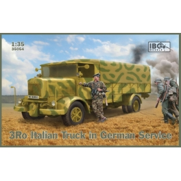 IBG 35054 Camion italien 3Ro en service dans la Wehrmacht