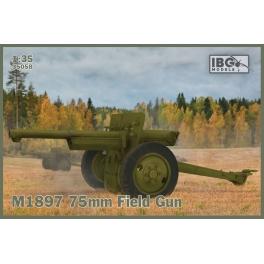 IBG 35058 Canon de 75mm français en service dans l'US Army