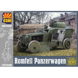 Copper State Models 35002 Automitrailleuse Romfell Panzerwagen