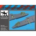 Black Dog A48093 - 1/48 SU -25 electronics