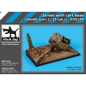 Black Dog D35109 - 1/35 Street with cart base