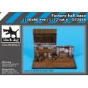 Black Dog D72058 - 1/72 Factory hall base