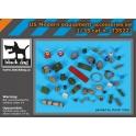 Black Dog T35222 - 1/35 Us modern equipment accessoris set