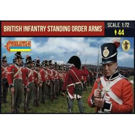 Strelets 201 - Infanterie britannique debout armes aux pieds