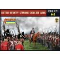 Strelets 202 - Infanterie britannique debout armes à l'épaule