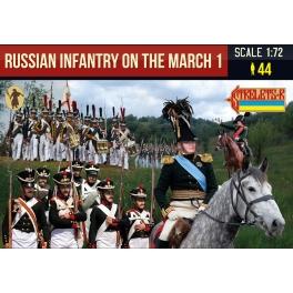Strelets 212 - Infanterie russe en marche - Set 1