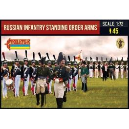 Strelets 217 - Infanterie russe debout armes aux pieds